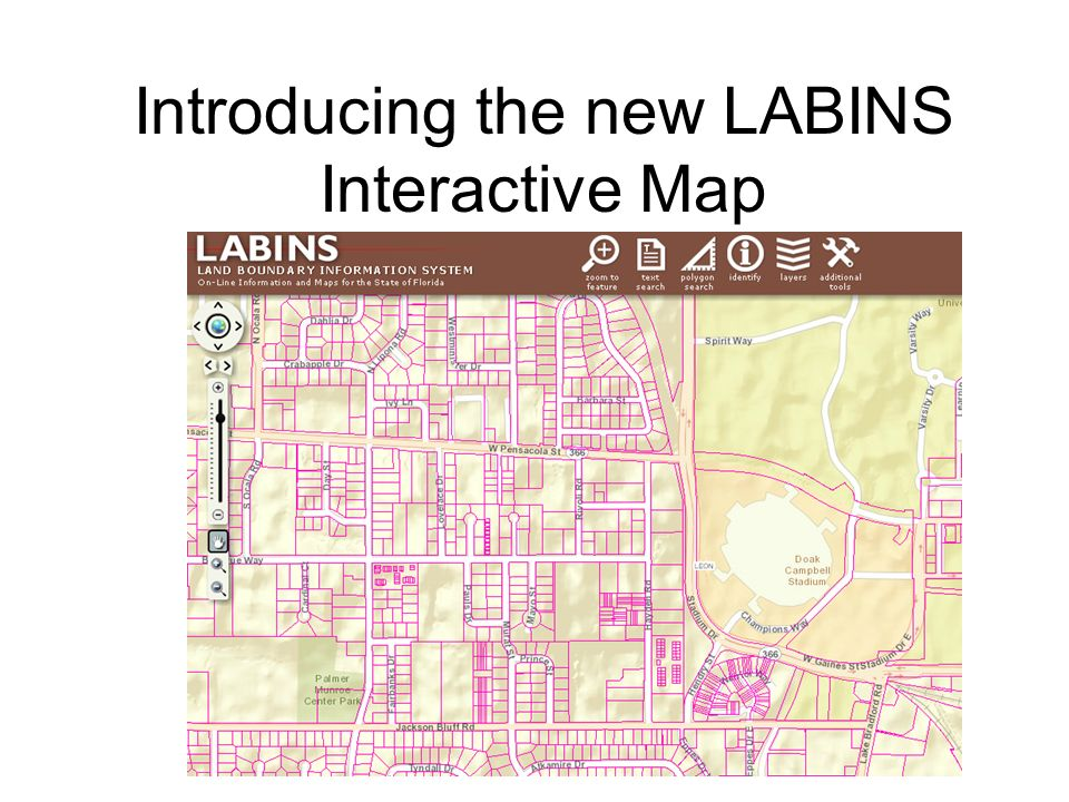 Introducing the new LABINS Interactive Map