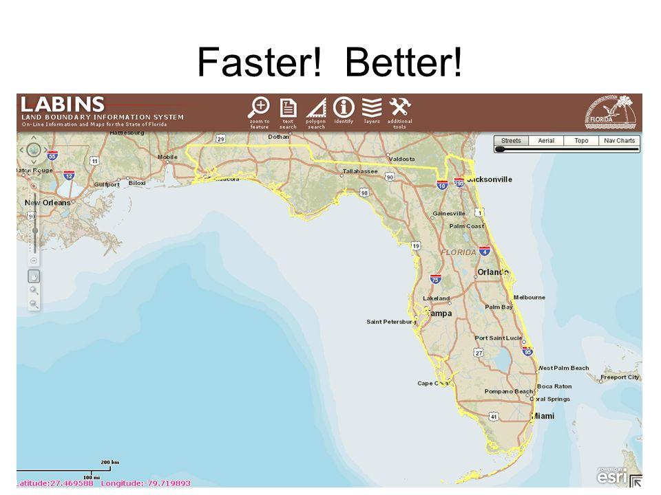 Faster! Better!