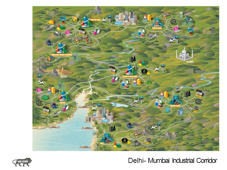 Delhi- Mumbai lndustrial Corridor