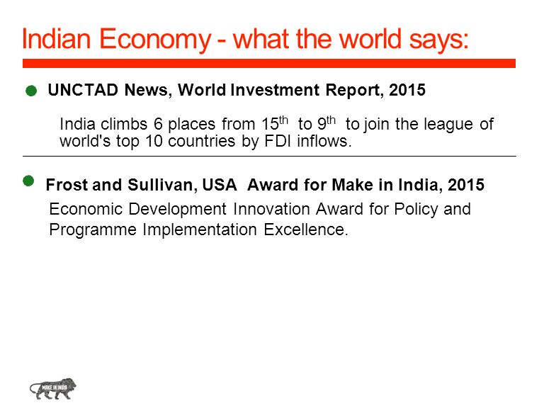 Indian Economy - what the world says: