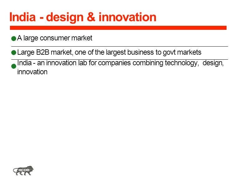 India - design & innovation
