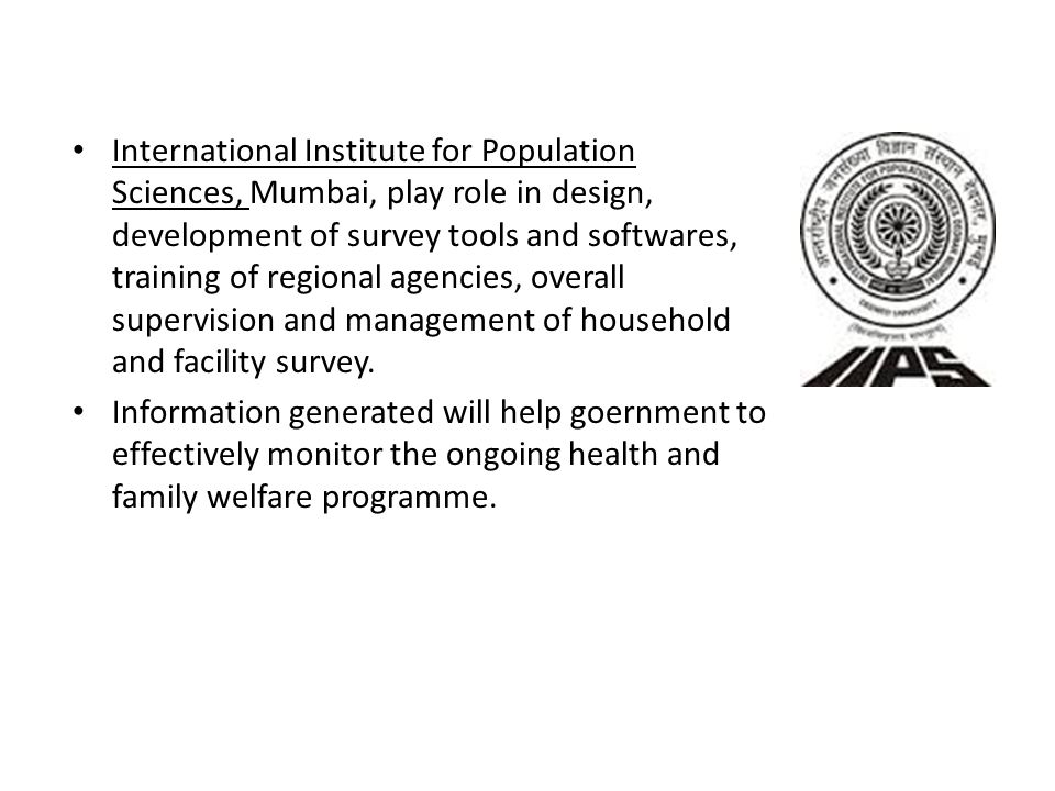 Sources of health information in india ppt video online for Design of household surveys