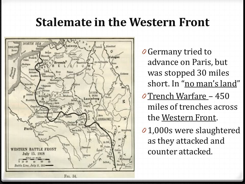 stalemate on the western front Objective of the game is to 'be germany and avoid stalemate' students  9-1  gcse: british medicine, ww1 western front medicine, booklet/revision guide.