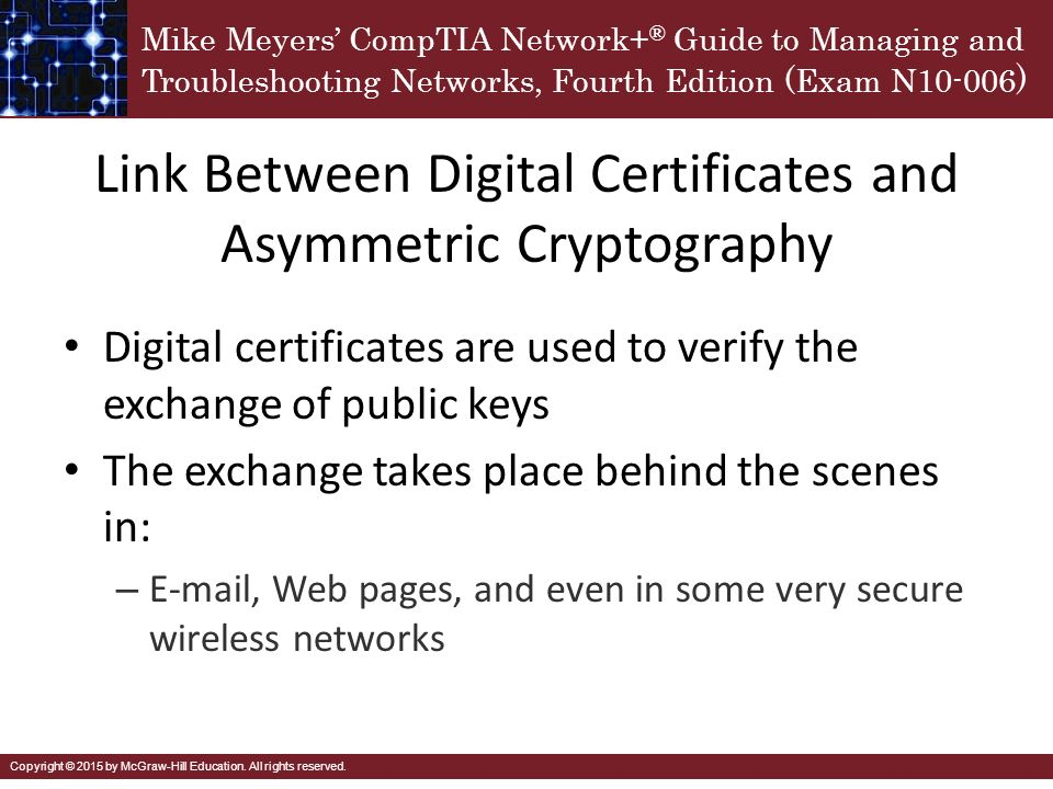 asymmetric cryptography what does a digital Asymmetric key ciphers were available since world war 2, but it wasn't until the late seventies that the asymmetric cryptography entered the public domain today, asymmetric encryption is the security pillar of the entire web.