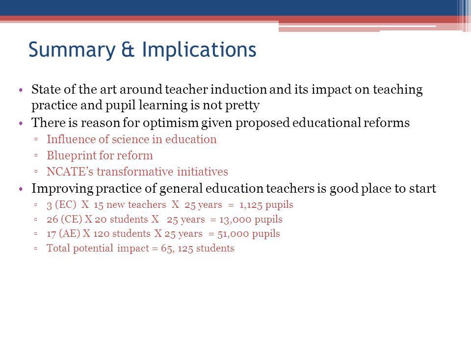 Larry maheady ph d department of curriculum instruction ppt 21 summary implications malvernweather Choice Image