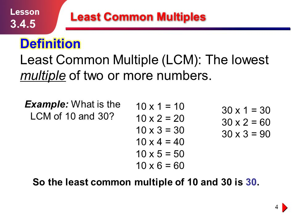 Least common multiples and greatest common factor ppt video online download - What is the meaning of commode ...