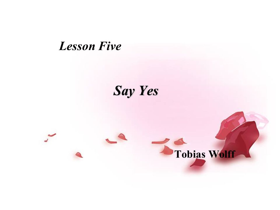 say yes wolff ending