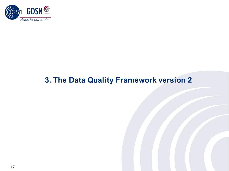 3. The Data Quality Framework version 2