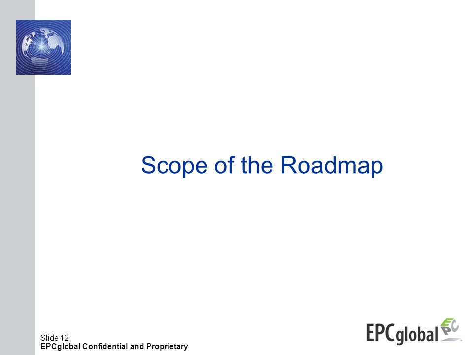 Scope of the Roadmap