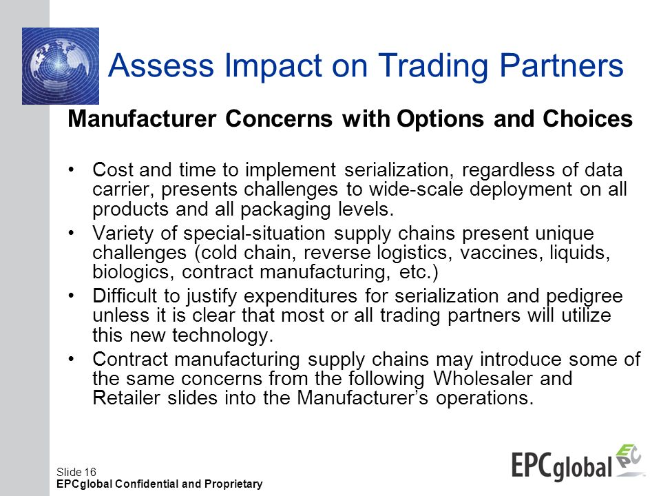 Assess Impact on Trading Partners