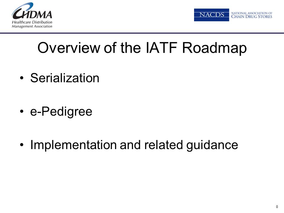 Overview of the IATF Roadmap