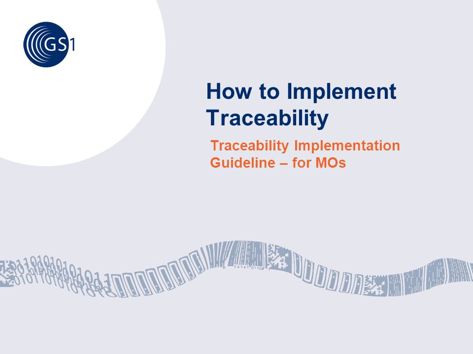 How to Implement Traceability