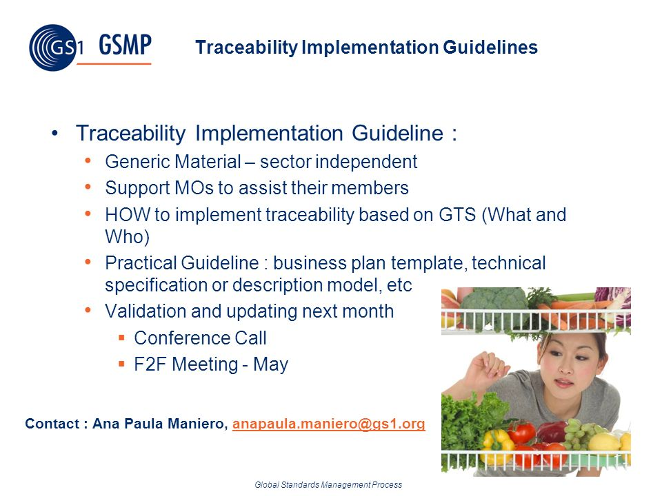 Traceability Implementation Guidelines