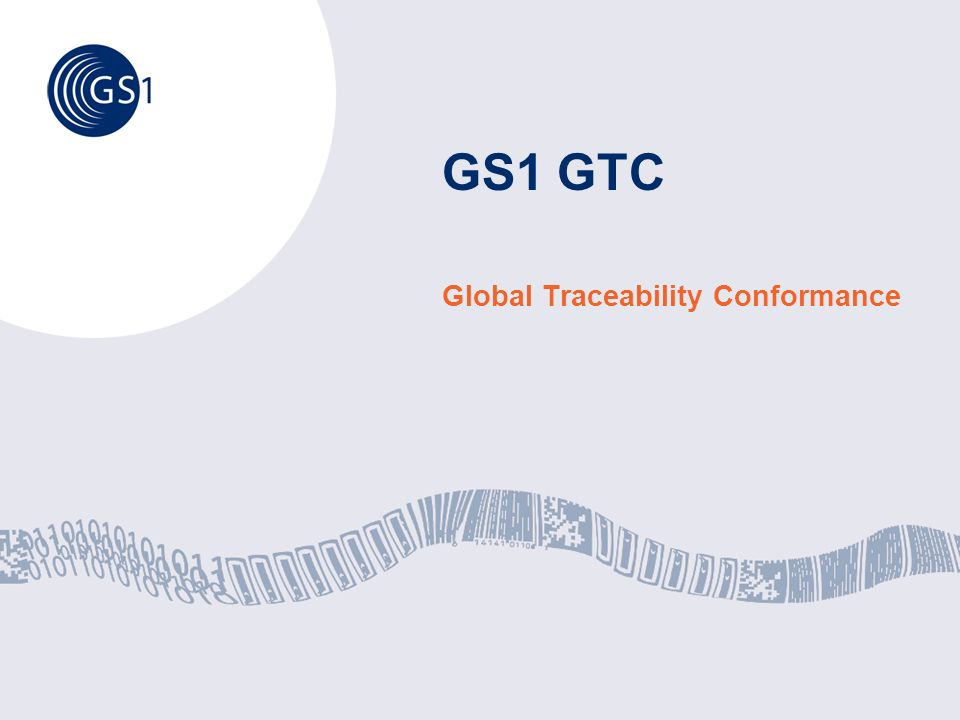 Global Traceability Conformance