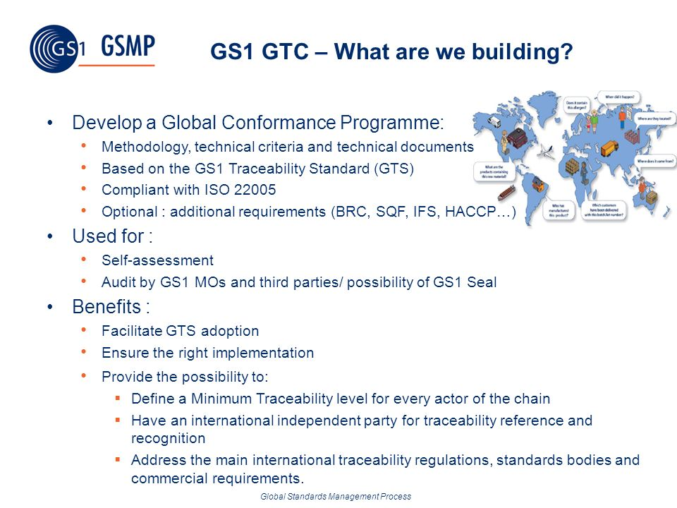 GS1 GTC – What are we building