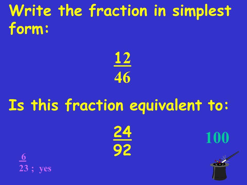 Factors & GCF Equivalent Fractions Rules of Exponents Negative & 0 ...
