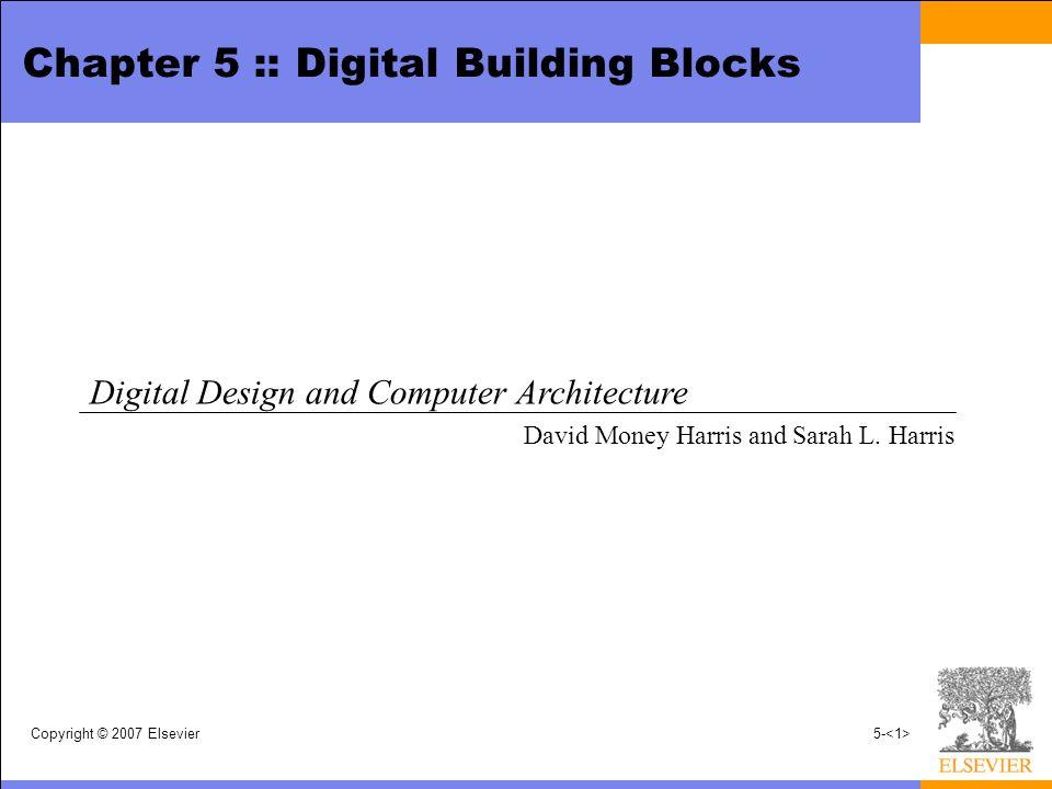 chapter 5 :: digital building blocks - ppt video online download