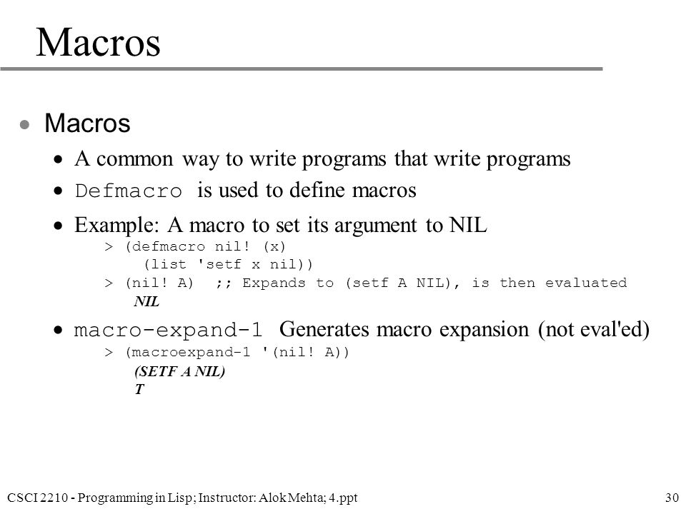 Lisp (programming language)