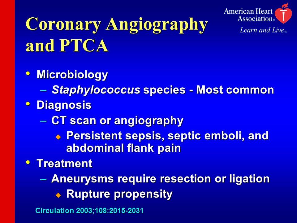 Coronary Angiography and PTCA
