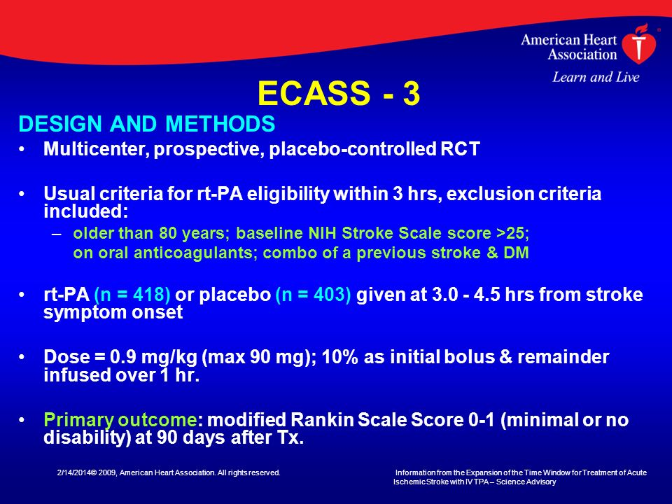ECASS - 3 DESIGN AND METHODS