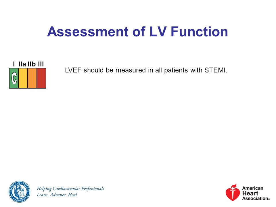 Assessment of LV Function