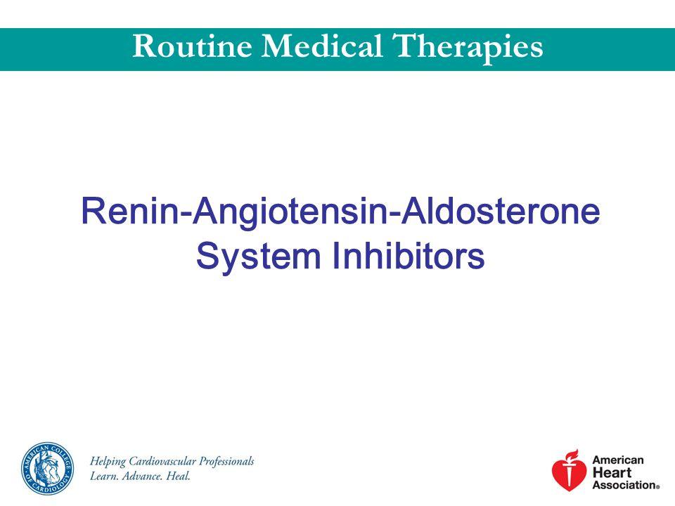 Renin-Angiotensin-Aldosterone System Inhibitors
