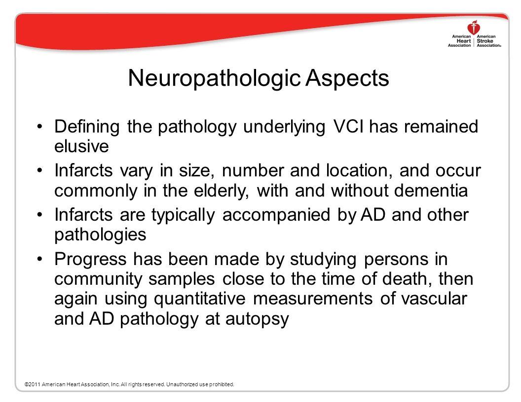 Neuropathologic Aspects