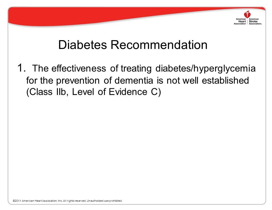 Diabetes Recommendation