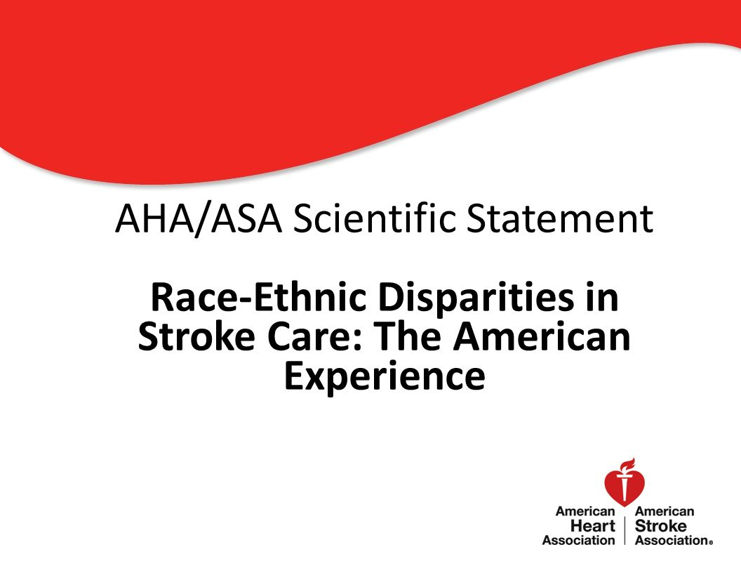 Race-Ethnic Disparities in Stroke Care: The American Experience