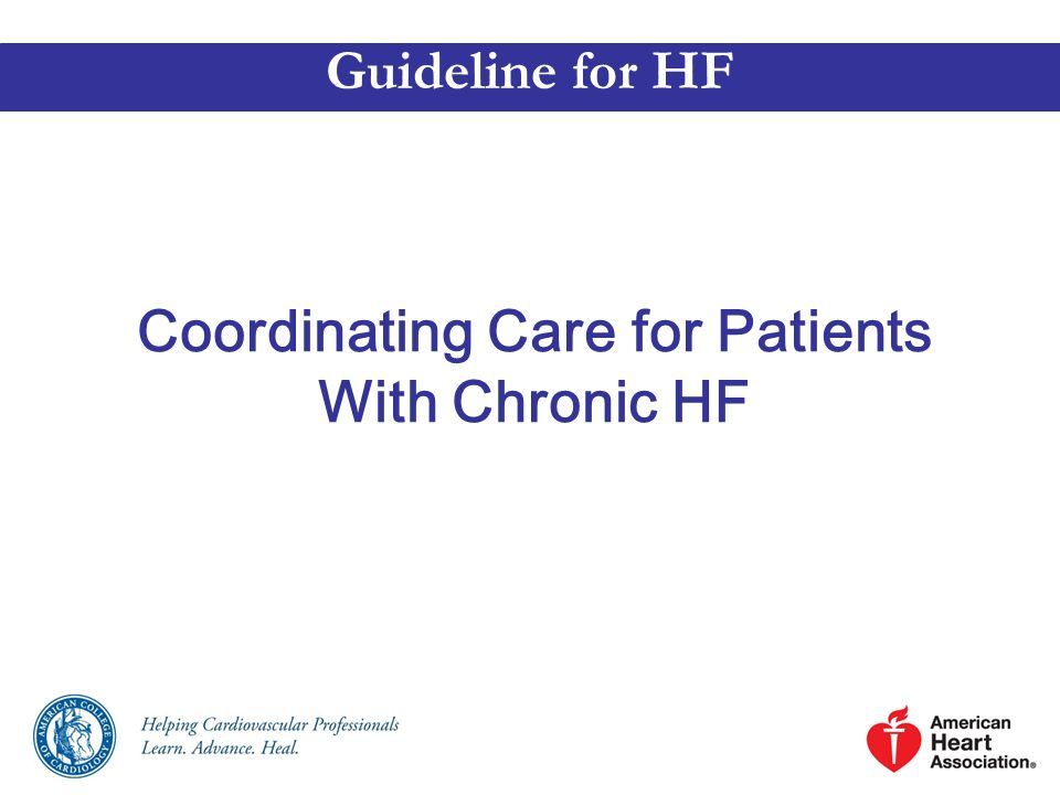 Coordinating Care for Patients With Chronic HF