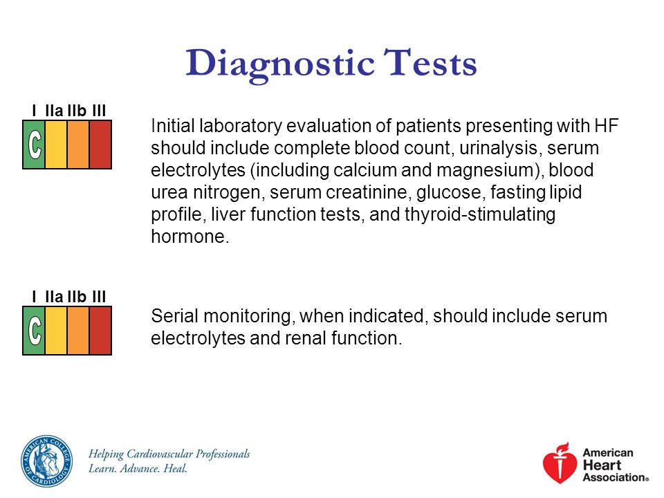 Diagnostic Tests I. IIa. IIb. III.