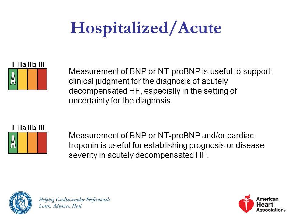 Hospitalized/Acute A A