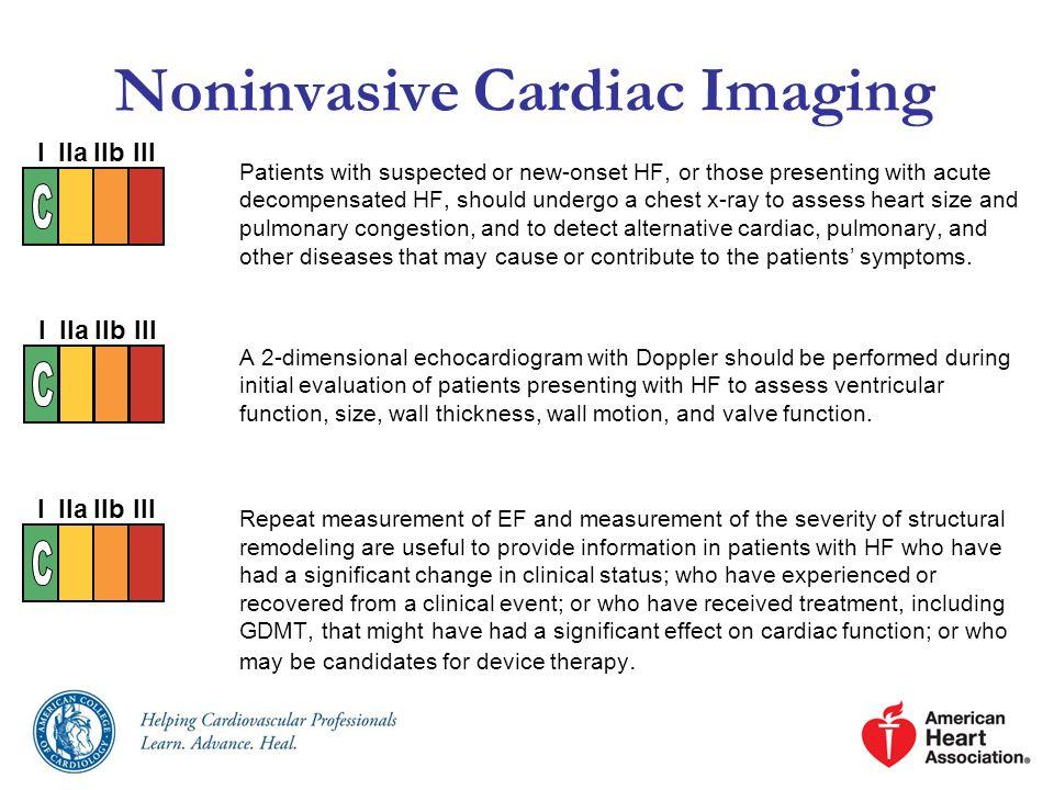 Noninvasive Cardiac Imaging