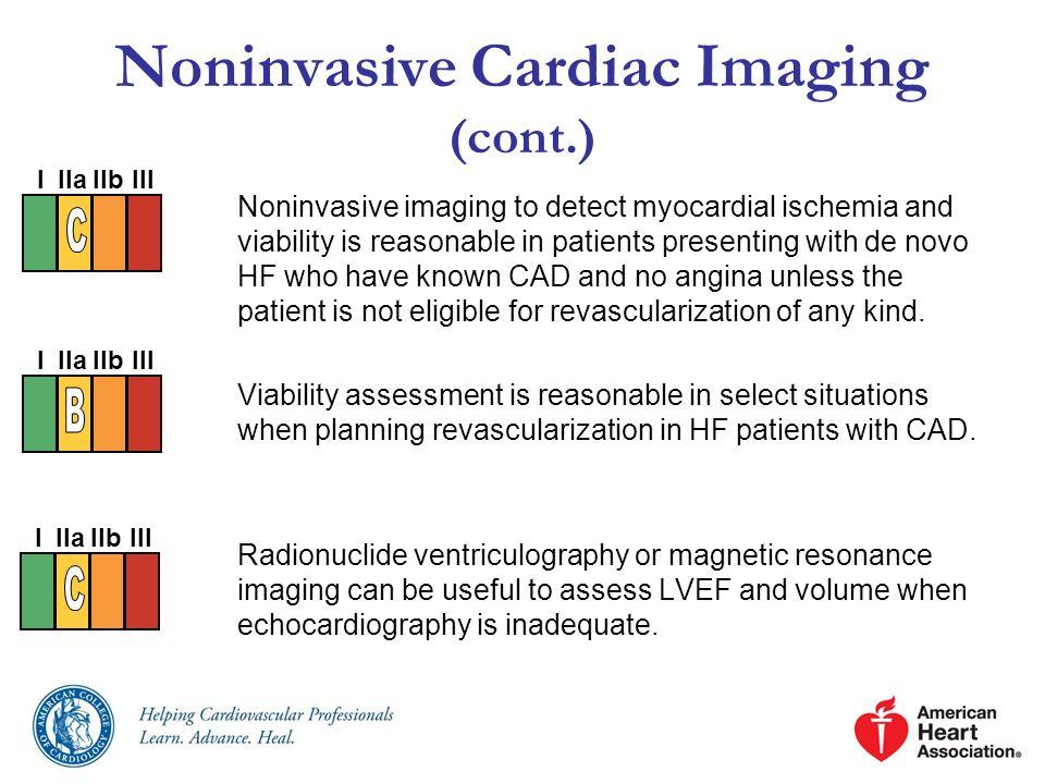 Noninvasive Cardiac Imaging (cont.)