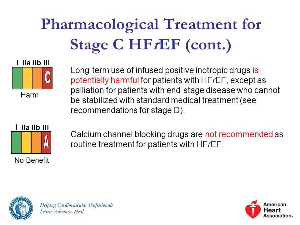 Pharmacological Treatment for Stage C HFrEF (cont.)