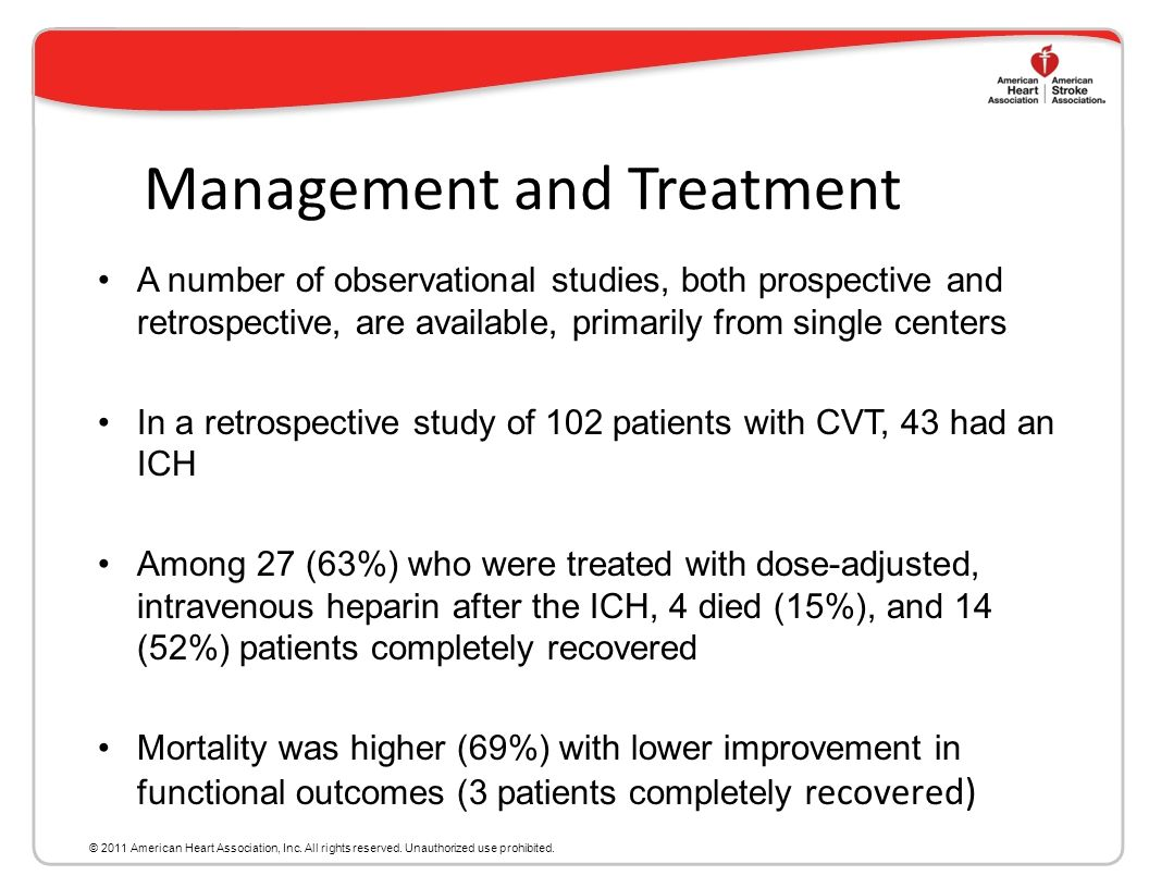 Management and Treatment