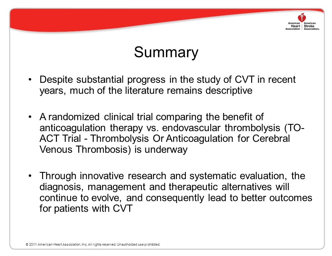 Summary Despite substantial progress in the study of CVT in recent years, much of the literature remains descriptive.