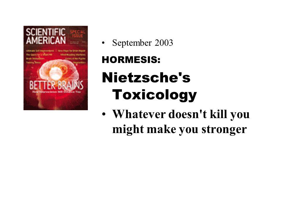 Nietzsche s Toxicology