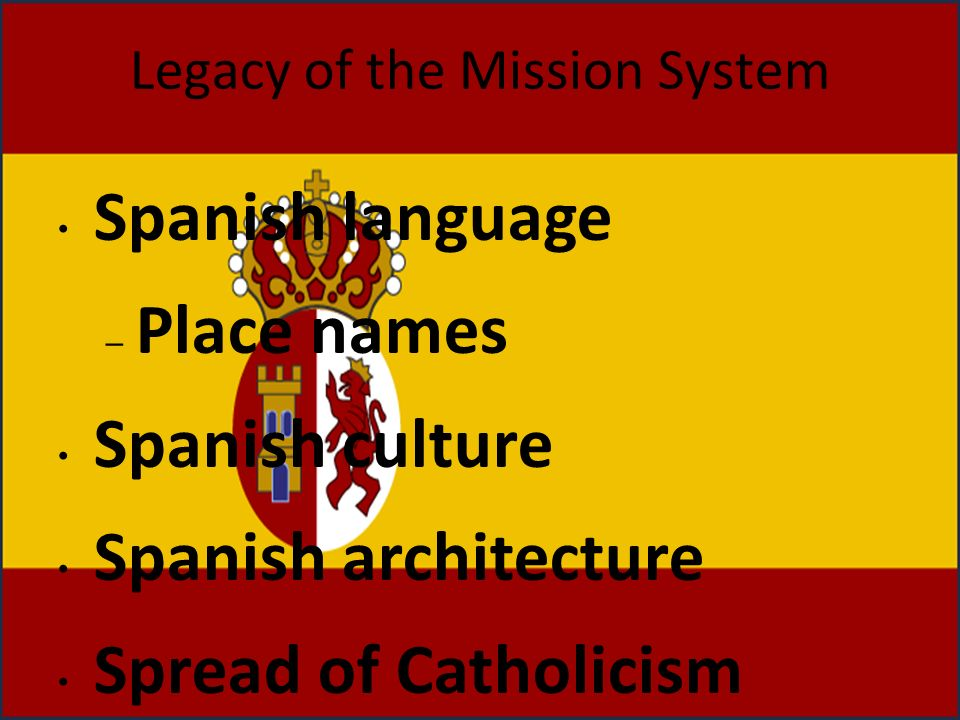 Legacy of the Mission System