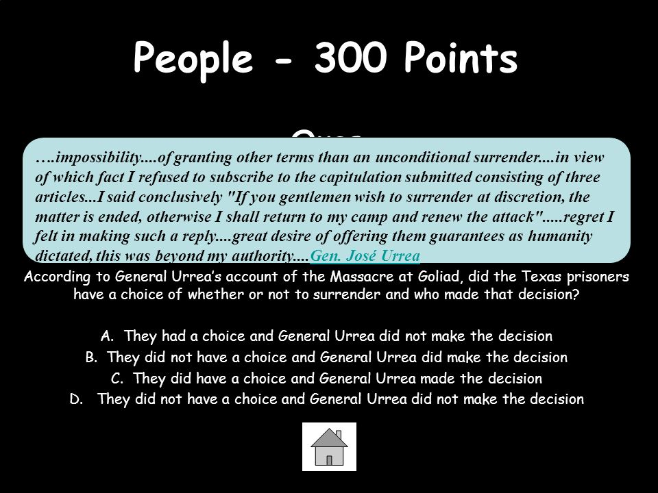 People - 300 Points Ques.