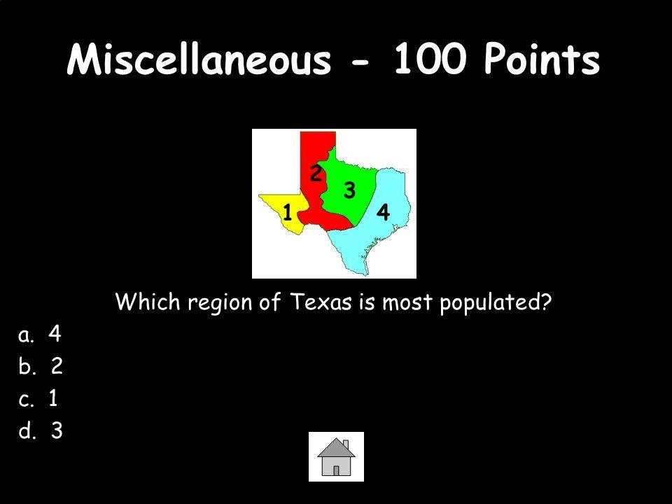 Miscellaneous - 100 Points