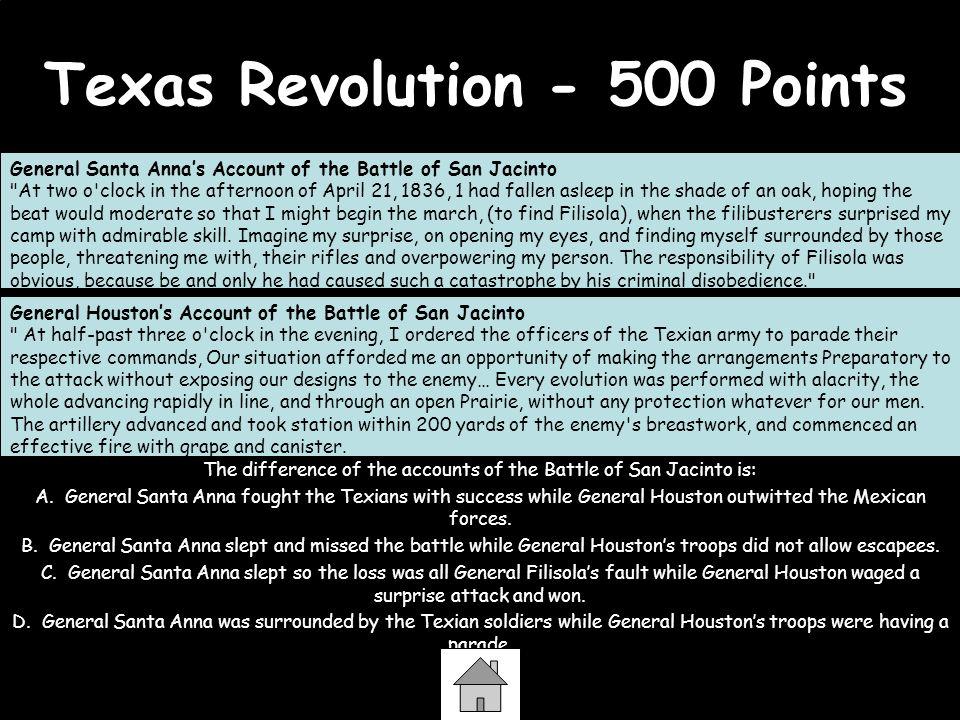 Texas Revolution - 500 Points