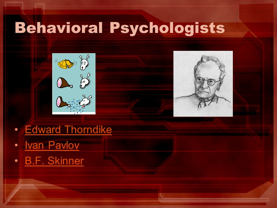 Behavioral Psychologists