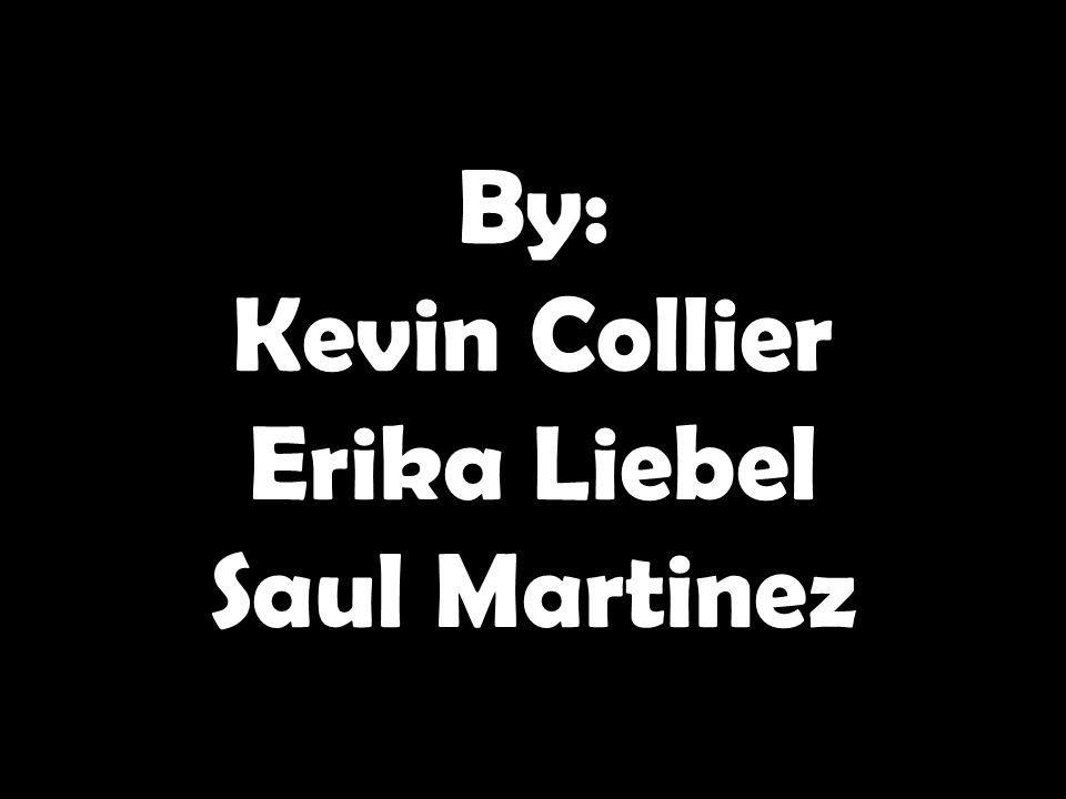 By: Kevin Collier Erika Liebel Saul Martinez