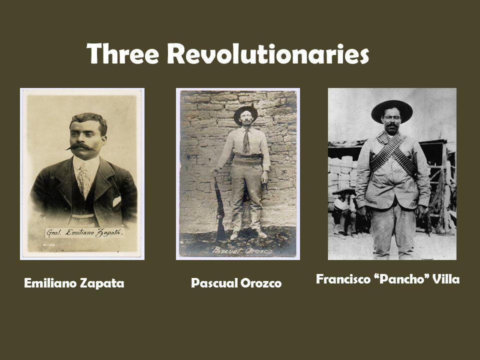 Three Revolutionaries