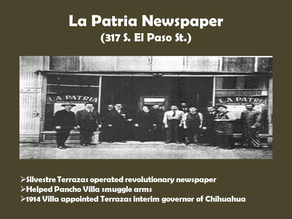 La Patria Newspaper (317 S. El Paso St.)