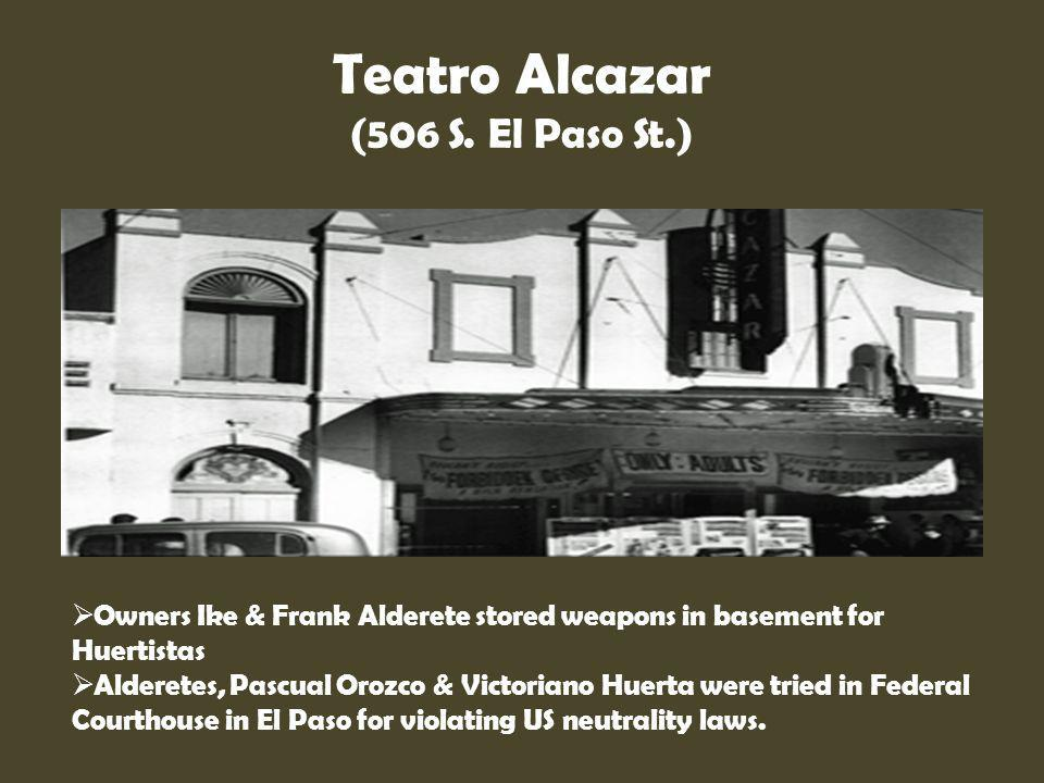 Teatro Alcazar (506 S. El Paso St.)