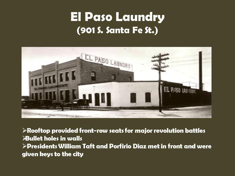 El Paso Laundry (901 S. Santa Fe St.)