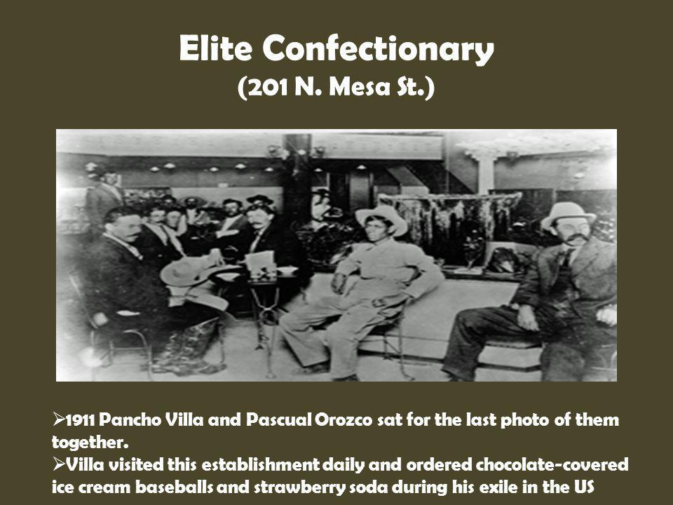 Elite Confectionary (201 N. Mesa St.)
