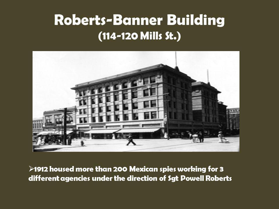 Roberts-Banner Building (114-120 Mills St.)